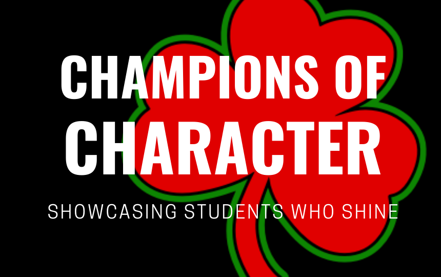 January Champions of Character